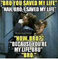 "They really are the best bromance ever. Even after Annie lost his shit, killed his wife, got his legs cut off, killed Obi Wan and enslaved the galaxy, they were reunited as force ghosts. -Nightwing: BROYOU SAVED MY LIFE  ""NAH,BRO.SAVED MY LIFE  Sjustice.leaque.mema  HOW,BROR  ""BECAUSEYOU'RE  MY LIFE, BRO  ""BRO They really are the best bromance ever. Even after Annie lost his shit, killed his wife, got his legs cut off, killed Obi Wan and enslaved the galaxy, they were reunited as force ghosts. -Nightwing"