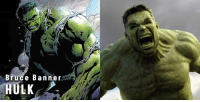 Click, Facebook, and Memes: Bruce Banner  HULK Click here to see the complete album so far!   https://www.facebook.com/pg/MarvelCinematicUniverse/photos/?tab=album&album_id=2167156589967568  (Drew Design)