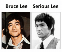 Bruce Lee, Lee, and Seriously: Bruce Lee Serious Lee