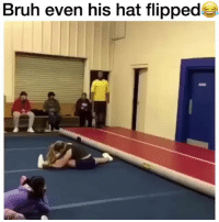 Bruh, Memes, and Wild: Bruh even his hat flipped This wild or nah ? @ratchethoodvideos
