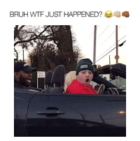 Memes, Worldstar, and Worldstarhiphop: BRUH WTF JUST HAPPENED? THIS FAT BITCH @fatandpaid KEPT ON TRYING TO TELL ME TO PULL MY SEAT UP WHEN CLEARLY MY KNEES ARE ON THE DASH 😡😤 SO WE WENT OUTSIDE AND DID WHAT WE HAD TO DO HOWBOUTDAH?!? 👊🏼👊🏾💢 - Follow @youloverichard (me) for more funny videos - justinbieber selenagomez beyonce drake omg love comedy funny wshh worldstarhiphop worldstar souljaboy youloverichard