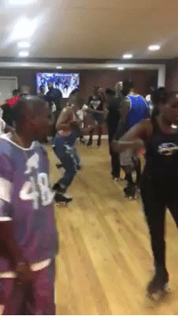 Blackpeopletwitter, Party, and Skate: BRUHHH they having a skate party in someone's basement .. https://t.co/k2bIGKN8Bz