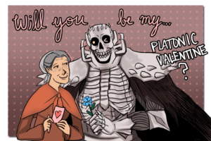 bscully:  Happy (platonic) valentine's day!: bscully:  Happy (platonic) valentine's day!