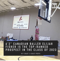 "Sports, Tristan Thompson, and Canadian: BSN  SPORTS  317.352.9826  BSNSPORTS.COM  6' 2"" CANA DI AN BALLER ELIJA H  FISHER IS THE TOP-RAN KED  PROSPECT IN THE CLASS OF 20 2 3  HIT COAST 2 COAST PREPS 12-year-old Elijah Fisher is just following in the footsteps of fellow Canadian ballers, Andrew Wiggins and Tristan Thompson"