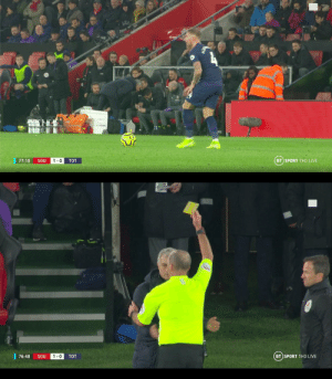 Jose Mourinho to Southampton bench: Happy new year  Mike Dean: https://t.co/QxYA1OQYya: BT SPORT 1HD LIVE  77:10  SOU  1-0  TOT   | 76:48  BT SPORT 1HD LIVE  1-0  SOU  TOT Jose Mourinho to Southampton bench: Happy new year  Mike Dean: https://t.co/QxYA1OQYya