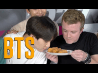 Dodgers, Tumblr, and Blog: BTS allforbts:  BTS Tries Churros, In N Out  Gets LA Dodgers Gear!