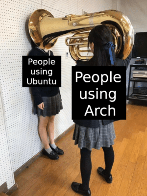 Btw I use AARCHHH: Btw I use AARCHHH