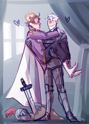 "ask-art-student-prussia:  bubblyernie: Just a fun little doodle I've always wanted to draw art tag // commission info  ""you're the prince of my heart, Gilbert, my knight in shining armour!"" is so babey: bubblyernie  7 ask-art-student-prussia:  bubblyernie: Just a fun little doodle I've always wanted to draw art tag // commission info  ""you're the prince of my heart, Gilbert, my knight in shining armour!"" is so babey"