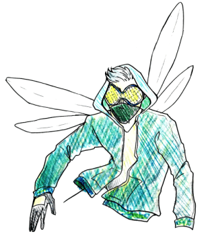 Target, Tumblr, and Blog: bubblyernie:  character design of an assassin called the Dragonflyart tag // commission info