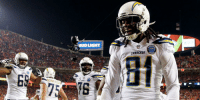 Memes, Chargers, and Chiefs: BUD LIGHT  CHARSERS .@Chargers clinch playoff berth with win over Chiefs: https://t.co/af5NXvwTfM https://t.co/pIpiya4LyL