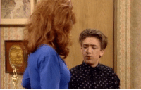 Bud, my eyes are up here [Married with Children]: Bud, my eyes are up here [Married with Children]
