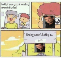 """Ass, Fucking, and Free: buddy, if youre good at something  never do it for free!  Beating cancer's fucking ass  $5  Cv  em, <p>New format that is popular, should I invest? via /r/MemeEconomy <a href=""""http://ift.tt/2w3Ngku"""">http://ift.tt/2w3Ngku</a></p>"""