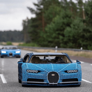 Bugatti and LEGO achieved the impossible:a full sized LEGO Technic Bugatti Chiron that drives!: Bugatti and LEGO achieved the impossible:a full sized LEGO Technic Bugatti Chiron that drives!