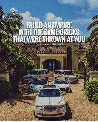 Let their hate be like wood to your fire. LIKE & TAG SOMEONE WHO NEEDS THIS!: BUILD AN EMPIRE  ITH THE SAME BRICKS  THAT WERE THROWN AT YOU  TheGentlemensRulebook Let their hate be like wood to your fire. LIKE & TAG SOMEONE WHO NEEDS THIS!