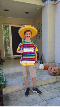 Mexican Halloween Costume: Build Walls  for Trump Mexican Halloween Costume
