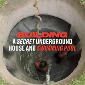 The craftsmanship on display here is exceptional 👏: BUILDING  A SECRET UNDERGROUND  HOUSE AND SWIMMING POOL The craftsmanship on display here is exceptional 👏