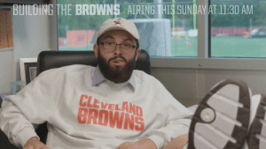 Mood in Cleveland after the Browns stole Odell Beckham Jr from the Giants https://t.co/SNjtvkLi8q: BUILDING THE BROWNS AIRINGIHIS SUNDAWATI1:30 AM  CLEVELAND  BROWNS Mood in Cleveland after the Browns stole Odell Beckham Jr from the Giants https://t.co/SNjtvkLi8q