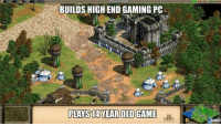 Memes, Game, and Games: BUILDS HIGHEND GAMING PC  PLAYS 14 YEAR OLD GAME  Vanda! (y) Games Rock My World