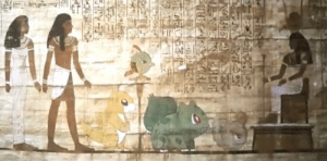bulbasaur-propaganda:  Why nobody is talking about the fact that Bulbasaur was part of Ancient Egypt culture?  : bulbasaur-propaganda:  Why nobody is talking about the fact that Bulbasaur was part of Ancient Egypt culture?