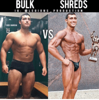 Clothes, Facebook, and Gym: BULK  SHREDS  IG @ L E GI O N S PR O DU CT IO N  SEB GARCIA  VS 🔥😳BULK VS SHREDS! Founder 👉: @king_khieu. Which do you like? Are you bulking or cutting? Thoughts? 🤔 What do you guys think? COMMENT BELOW! Athlete: @sebgarcia. TAG SOMEONE who needs to lift! _________________ Looking for unique gym clothes? Use our 10% discount code: LEGIONS10🔑 on Ape Athletics 🦍 fitness apparel! The link is in our 👆 bio! _________________ Principal 🔥 account: @fitness_legions. Facebook ✅ page: Legions Production. @legions_production🏆🏆🏆.