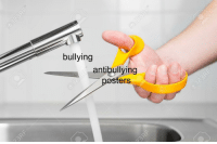 Bullying, This, and This Is: bullying  antibullying  pesters Hear that bullies? This is a B U L L Y F R E E Z O N E