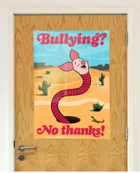 Tumblr, Blog, and Http: Bullying?  No thanks! moontouched-moogle:  liartownusa:  Bullying poster