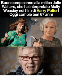 Instagram, Memes, and Molly: Buon compleanno alla mitica Julie  Walters, che ha interpretato Molly  Weasley nei film di Harry Potter!  Oggi compie ben 67 anni  com  Instagram, Ivan HpEw Non mia figlia, bastarda. JulieWalters Weasley HarryPotter IvanHpEw