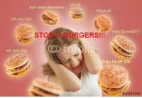 """Reddit, House, and Kids: burn down the house  kill kill  killem all  kill your kids  watcha waitin'?  STOP IT BURGERS!!!  eat your dog  they must die  <p>[<a href=""""https://www.reddit.com/r/surrealmemes/comments/7prl1r/after_every_bbq_susan_must_face_the_consequences/"""">Src</a>]</p>"""