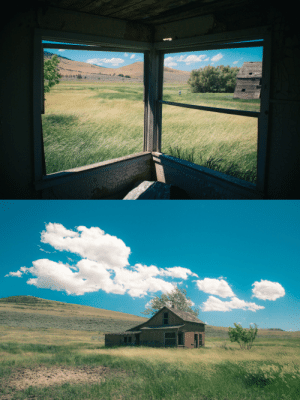 Target, Tumblr, and Blog: burtoo: Inside/outside an abandoned homestead on Flathead Indian Reservation, Montana - Brendon Burton