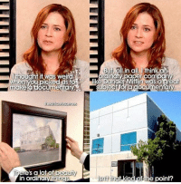 "Weird, Http, and Wholesome: But all.in all, Ithinka  thougntit was weird  en you picked usto  dincry oaper com an  like Dunder Mifflin was a areat  makea documentaSubjectfora documento  ere's a lot of  in ordinary thin  ind of the point? <p>Wholesome Pam. via /r/wholesomememes <a href=""http://ift.tt/2o1UDjQ"">http://ift.tt/2o1UDjQ</a></p>"