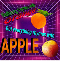 """<p>[<a href=""""https://www.reddit.com/r/surrealmemes/comments/8enndu/hmmst_this_is_interseting/"""">Src</a>]</p>: But everything rhymes with  APPEE <p>[<a href=""""https://www.reddit.com/r/surrealmemes/comments/8enndu/hmmst_this_is_interseting/"""">Src</a>]</p>"""