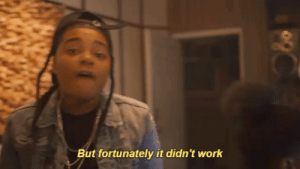Gif, Tumblr, and Work: But fortunately it didn't work itsyoungma:  Young M.A - Quiet Storm gif done by me