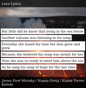 James Ford Murphy Lava