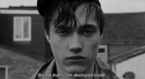 Truth, Inside, and Destroyed: But the truth is I'm destroyed inside