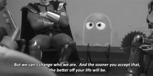 https://iglovequotes.net/: But we can't change who we are. And the sooner you accept that,  the better off your life will be. https://iglovequotes.net/