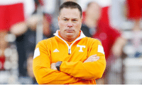 Butch Jones looks like the guy who tries to get off the plane first from the back but gets stuck in the isle next to you. https://t.co/XwYFLaFuTQ: Butch Jones looks like the guy who tries to get off the plane first from the back but gets stuck in the isle next to you. https://t.co/XwYFLaFuTQ