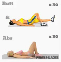 Butt  x 30  8  Abs  x 30 RT @FactofWorkout: Booty and Abs https://t.co/xOCm9XwQOX