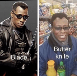 Butter knife: Butter  knife  Blade Butter knife