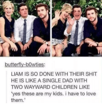 """butterfly-bowties:  LIAM IS SO DONE WITH THEIR SHIT  HE IS LIKE A SINGLE DAD WITH  TWO WAYWARD CHILDREN LIKE  """"yes these are my kids. i have to love  them These 3 <4 Clove Is My Four Leaf Clover - I Am Dauntless P.S. Like THG fanfiction? I have a COMPLETED 80 part Johanna fanfic which can be found in this page's photo albums :)"""