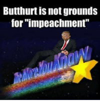 """Butthurt: Butthurt is not grounds  for """"impeachment"""""""