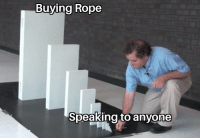 Be Like, Rope, and Really: Buying Rope  Speaking to anvone it really do be like that