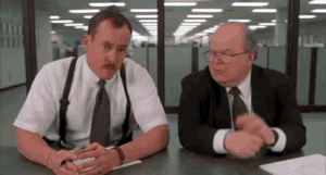 Tumblr, Blog, and Http: buzzgifs:  My boss was fired a year ago. I've basically been paid to exist since then. Today I have my first meeting with my new boss. This is the moment I'm dreading. / via