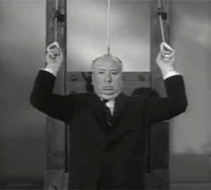 Tumblr, Blog, and Http: buzzgifs:  Workout like Alfred Hitchcock / via