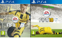 New cover for FIFA 18 https://t.co/FVrXANyT7j: BVB  SPORTS  SV  FIFA  FIF  PROVISIONAL  www.peglinto  FUTBOL TROLL  ZA  SPORTS  FIFTAB  FIFA New cover for FIFA 18 https://t.co/FVrXANyT7j