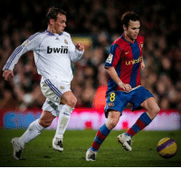 Head, Memes, and Andres Iniesta: bwin  com  unicef The last time Messi and Ronaldo didn't play in El Clasico, Andres Iniesta and Wesley Sneijder both had a full head of hair. 😂 https://t.co/LewxUf39Ii