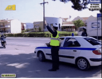 High Five, Cop, and Five: by alekos43