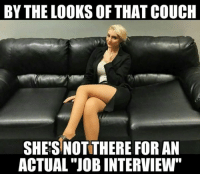 """#kinky #thoughts 💋💋💋: BY THE LOOKS OF THAT COUCH  SHE'S NOTTHERE FOR AN  ACTUAL """"JOB INTERVIEW"""" #kinky #thoughts 💋💋💋"""