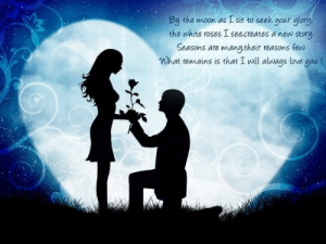 I Love My Wife Meme, Funny Wife Memes - 2018 Edition: By the moon as I sit to seek your glory.  the white roses I see.creates a new story  Seasons are manu,their reasons few  Wh love nou (  at remains is that I will always I Love My Wife Meme, Funny Wife Memes - 2018 Edition
