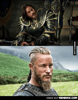 When you realize that Ragnar Lothbrok from Vikings will be Anduin in the Warcraft movie! (Actor: Travis Fimmel)omg-humor.tumblr.com: CНЕCK OUT MЕМЕРIХ.COM  МЕМЕРIХ.СOм When you realize that Ragnar Lothbrok from Vikings will be Anduin in the Warcraft movie! (Actor: Travis Fimmel)omg-humor.tumblr.com