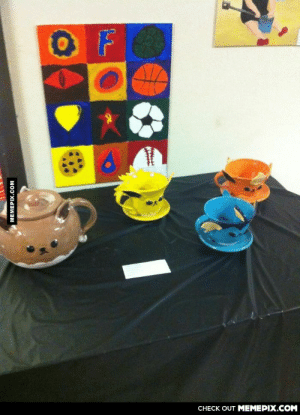 Went to the school's art show and just had to take a picture of these.omg-humor.tumblr.com: CНECK OUT MЕМЕРIХ.COM  MEMEPIX.COM Went to the school's art show and just had to take a picture of these.omg-humor.tumblr.com